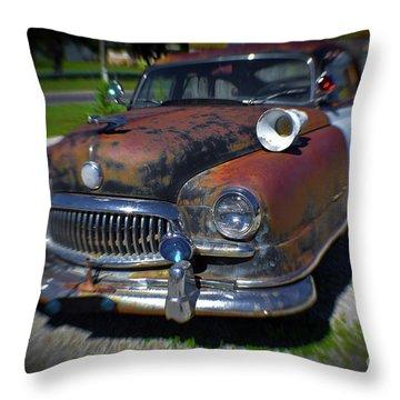 Car 66 Throw Pillow