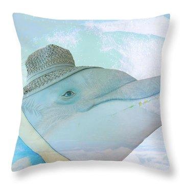 10732 Flipper Throw Pillow
