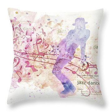 10849 All That Jazz Throw Pillow