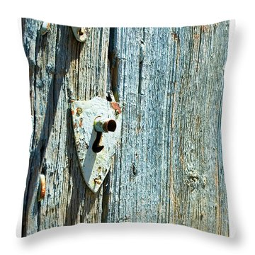 109 East Palace Throw Pillow