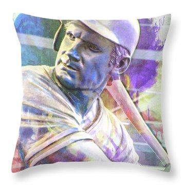 10929 George Brett Throw Pillow