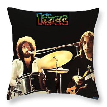 10cc Collection - 1 Throw Pillow