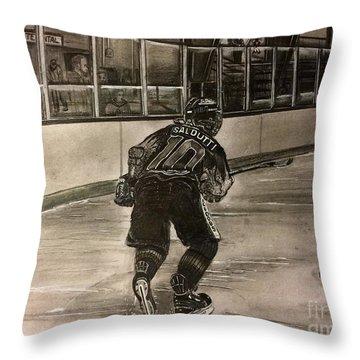 #10nsaldutti  Throw Pillow
