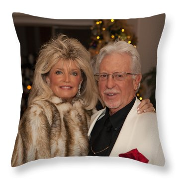 Christmasparty Throw Pillow