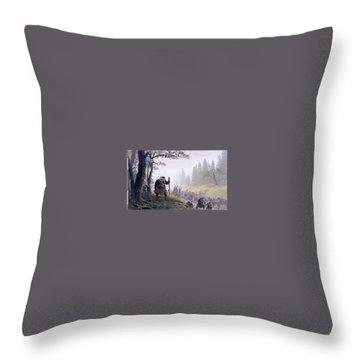 Daruma Throw Pillows Fine Art America