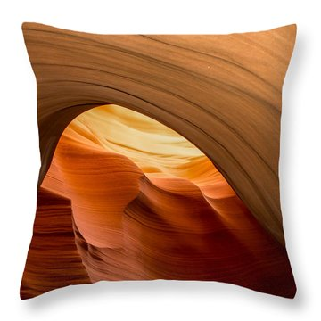 Lower Antelope Canyon Navajo Tribal Park #12 Throw Pillow