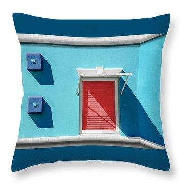 11 O'clock Shadow Throw Pillow by Paul Wear