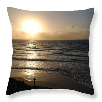 Sunset At Jaffa Beach 5 Throw Pillow