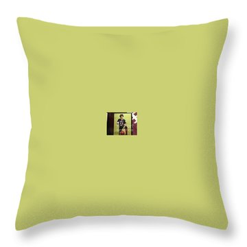 #11 Talisa Hartley Houston Energy  Throw Pillow