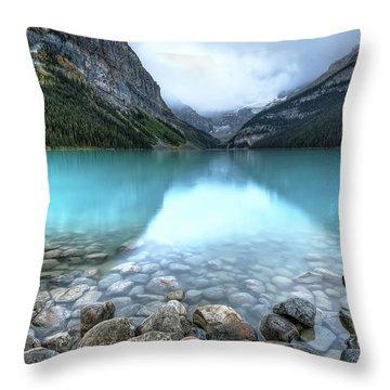 1111 Lake Louise Throw Pillow