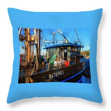 Throw Pillow featuring the photograph 1131965 by Thom Zehrfeld