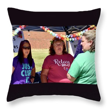 1159 Throw Pillow