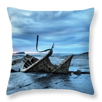 Admiral Von Tromp At Black Nab Throw Pillow