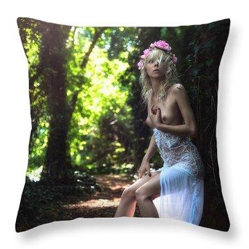 Apsarasa Throw Pillow by Traven Milovich