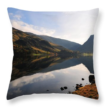 Lake District Throw Pillows