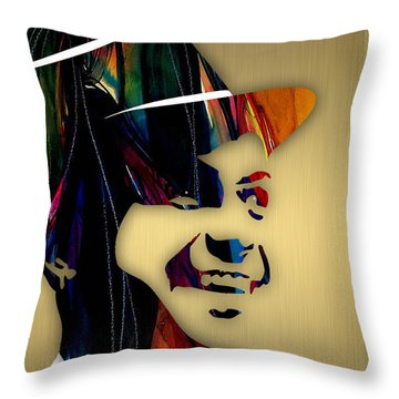 Frank Sinatra Collection Throw Pillow