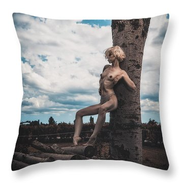 Throw Pillow featuring the photograph Kelevra by Traven Milovich