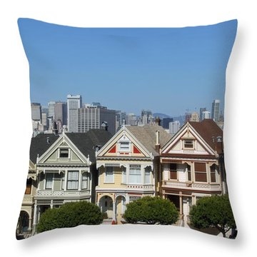 @san Francisco Throw Pillow