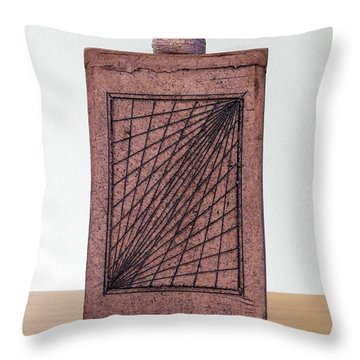 Untitled Throw Pillow by Linda Spangler