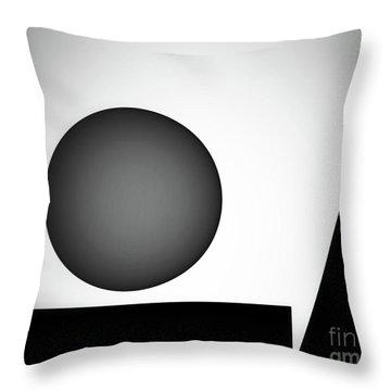 Throw Pillow featuring the digital art 1207 2017 by John Krakora