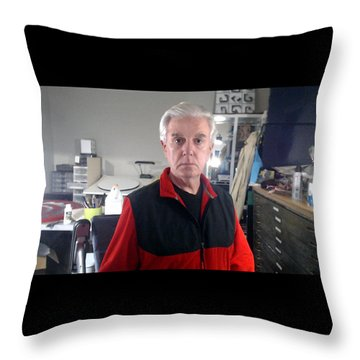 Throw Pillow featuring the photograph . by James Lanigan Thompson MFA