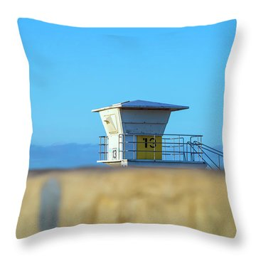 13 Above The Seawall Throw Pillow