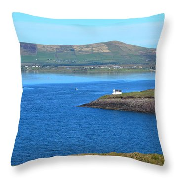 Throw Pillow featuring the photograph Dingle Bay by Barbara Walsh
