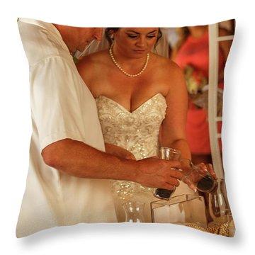 Faulkner Wedding Throw Pillow