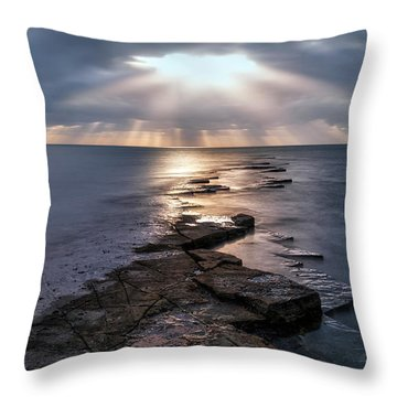 Peace Tower Throw Pillows