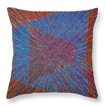 Mobius Band Throw Pillow by Kyung Hee Hogg
