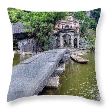 Ninh Binh - Vietnam Throw Pillow