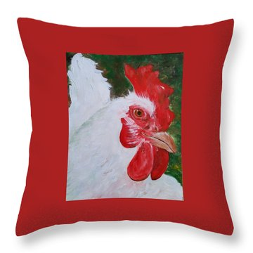 #13 Pearl Throw Pillow