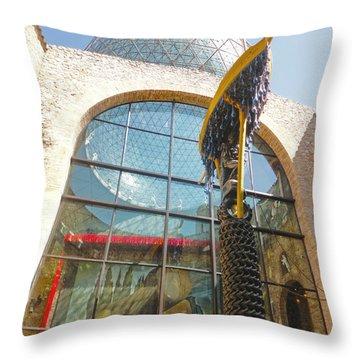 Salvador Dali Museum Throw Pillow