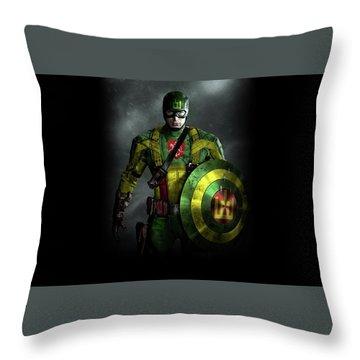 Sci Fi Throw Pillow