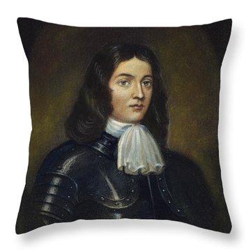 William Penn (1644-1718) Throw Pillow by Granger
