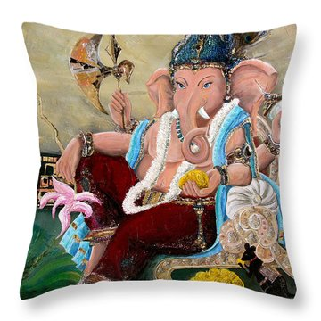 135 Throw Pillow