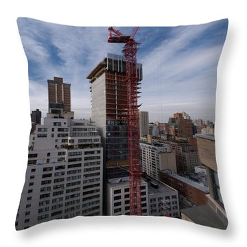 1355 1st Ave 2 Throw Pillow