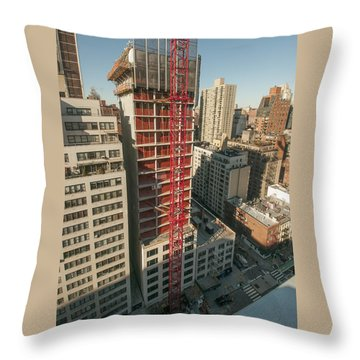 1355 1st Ave 1 Throw Pillow
