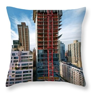 1355 1st Ave 3 Throw Pillow