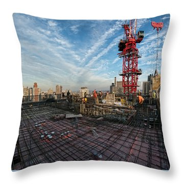 1355 1st Ave 4 Throw Pillow