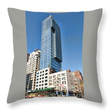 1355 1st Ave 6 Throw Pillow