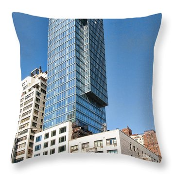 1355 1st Ave 7 Throw Pillow