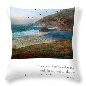 136 Fxq Throw Pillow