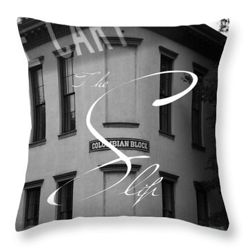 13th And Cary Throw Pillow by Kelvin Booker