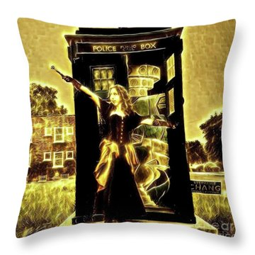 13th Doctor Throw Pillow