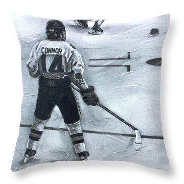 #14 Connor  Throw Pillow