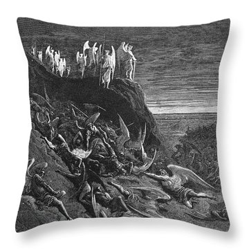 Milton: Paradise Lost Throw Pillow by Granger