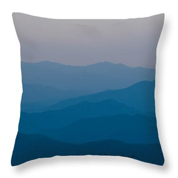 Panoramic Fine Art Prints Throw Pillow by Kevin Blackburn