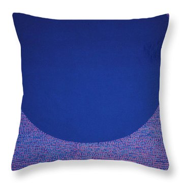 Perfect Existence Throw Pillow by Kyung Hee Hogg