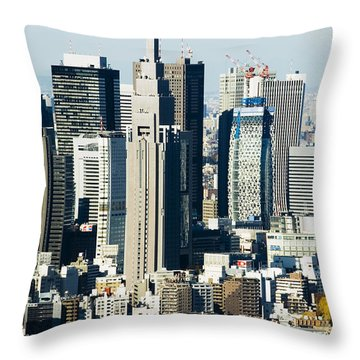 Throw Pillow by Bill Brennan - Printscapes